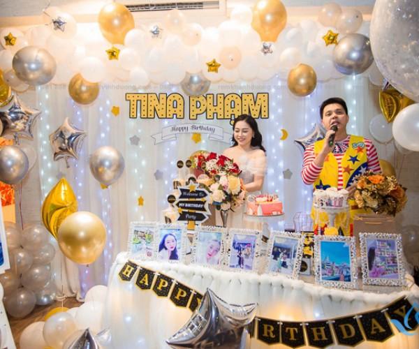 Mẫu rèm voan sinh nhật cực dễ thương cho bé tại Long Biên