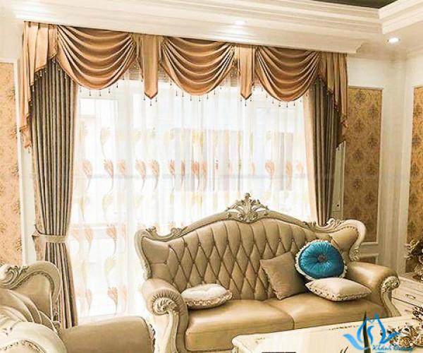 Mua rèm cổ điển cho biệt thự sang trọng Trung Hòa, Cầu Giấy HT882-11