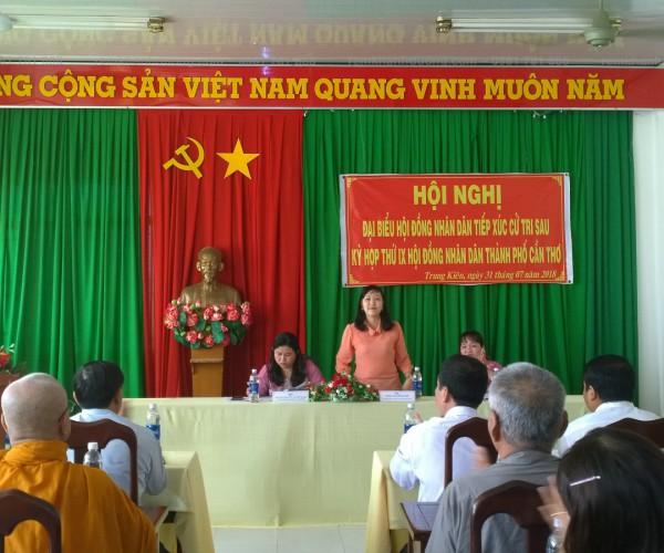 Phông rèm hội trường đẹp trang trọng tại Hoàng Diệu, Hà Nội HT 04