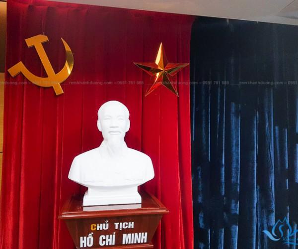Phông rèm sân khấu đẹp sang trọng phố Giải Phóng, Hà Nội HT05