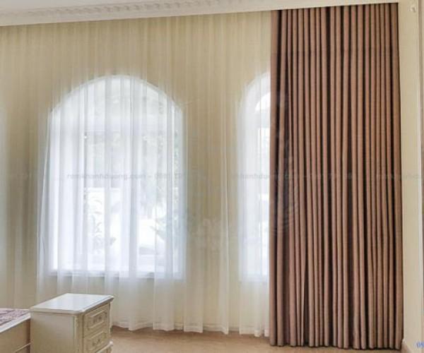 Rèm cao cấp Hàn Quốc dành cho phòng ngủ tại KĐT Xala, Hà Đông ART08