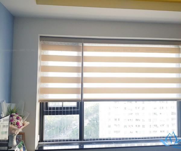 Rèm cầu vồng cản sáng dành cho chung cư tại KĐT Xala, Hà Đông BS1004