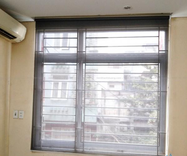 Rèm cửa cuốn lưới đẹp giá rẻ cho cửa sổ Thái Hà, Hà Nội MA117