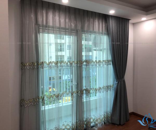 Rèm cửa Hàn Quốc ấn tượng cho chung cư Vinaconex, Hà Nội HQ 207