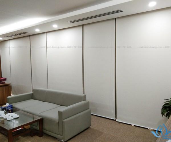 Rèm cuốn che nắng cửa sổ cho văn phòng Lê Đức Thọ, Hà Nội RC12