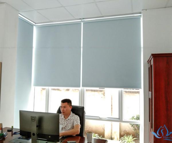 Rèm cuốn chống nắng văn phòng giá rẻ tại KĐT An Hưng, Hà Nội MA1896