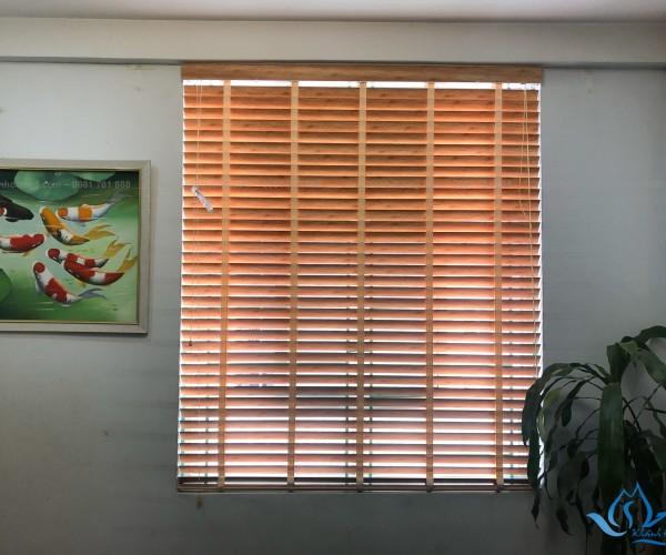 Rèm gỗ cửa sổ Hà Nội giá rẻ mã GS 011