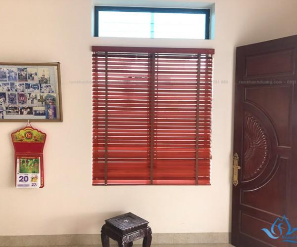 Rèm gỗ dành cho phòng khách sang trọng tại Mỹ Đức, Hà Nội MSJ308