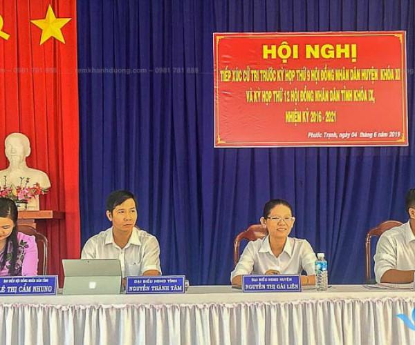 Rèm hội trường giá rẻ bền đẹp tại Nguyễn Lương Bằng, Hà Nội HT16