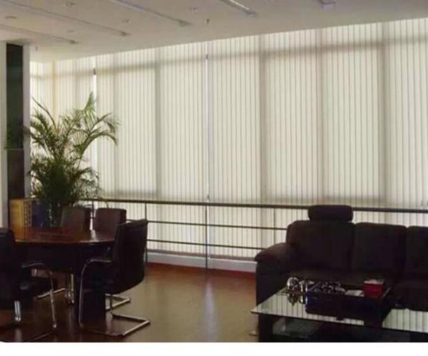 Rèm lá dọc cao cấp LD10 ở văn phòng quận Thanh Xuân
