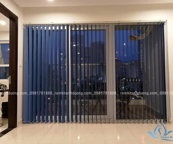 Rèm lá dọc dành cho chung cư hiện đại tại KĐT Văn Phú, Hà Nội MA1780