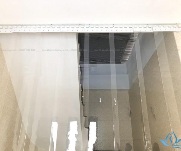 Rèm lá dọc PVC thiết kế đẹp hiện đại tại Mipec Long Biên, Hà Nội A513
