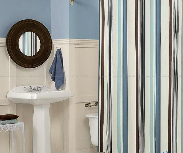 Rèm nhà tắm không thấm nước mẫu mã đẹp SCS 23