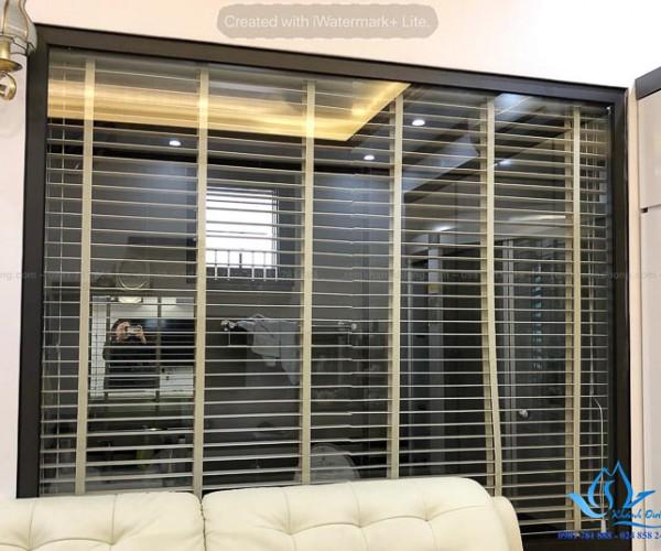 Rèm nhựa giả gỗ MSJ 508 giải pháp hữu hiệu cho phòng tắm Nam Từ Liêm