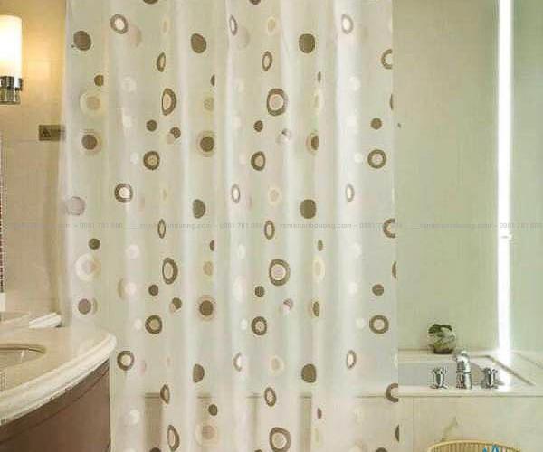 Rèm nhựa phòng tắm Hà Nội giá rẻ mã BR 53