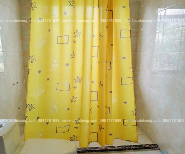 Rèm phòng tắm  đẹp chống nấm mốc tại Hà Nội