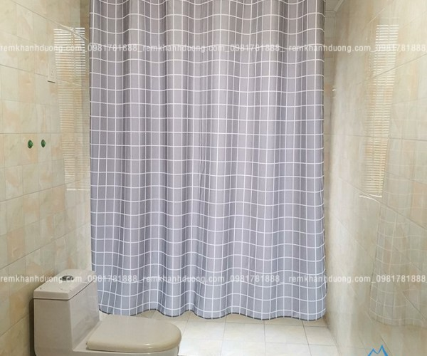 Rèm phòng tắm khách sạn cao cấp PT-104 tại Hà Nội