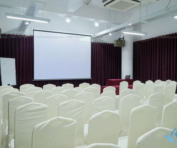 Rèm sân khấu thu hút, sang trọng tại Lê Văn Lương, Hà Nội HT15