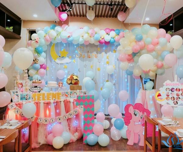 Rèm trang trí sinh nhật rẻ đẹp Mỹ Đình - Nam Từ Liêm