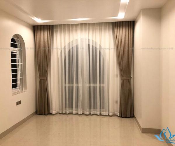 Rèm vải 2 lớp Hàn Quốc cao cấp tại Khâm Thiên, Hà Nội DOICE09