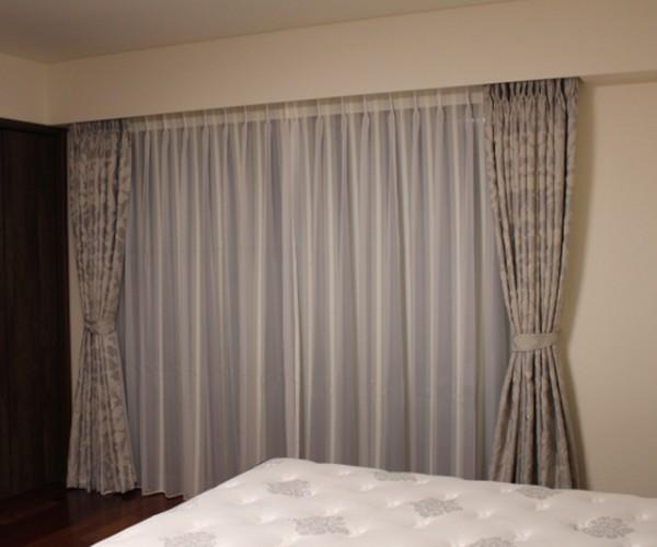 Mẫu rèm vải Bỉ đẹp nhất ở biệt thự nhà Chị Hiếu - Long Biên RB - 22