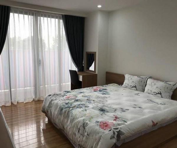 Rèm vải cao cấp cản nắng cho chung cư Ngoại Giao Đoàn, Hà Nội T898-05