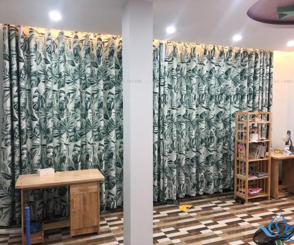 Rèm vải cao cấp Thái Lan in tranh 3D mã Fabric 01 ở Thanh Hóa