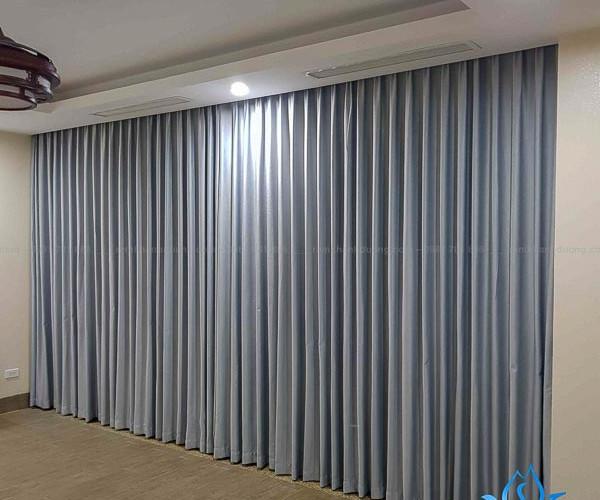 Rèm vải chống nắng một màu ấn tượng Khuất Duy Tiến, Hà Nội TM 1606-54