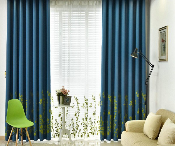 Rèm vải hoa văn phong cách Châu Âu tại Hai Bà Trưng, Hà Nội HH-020
