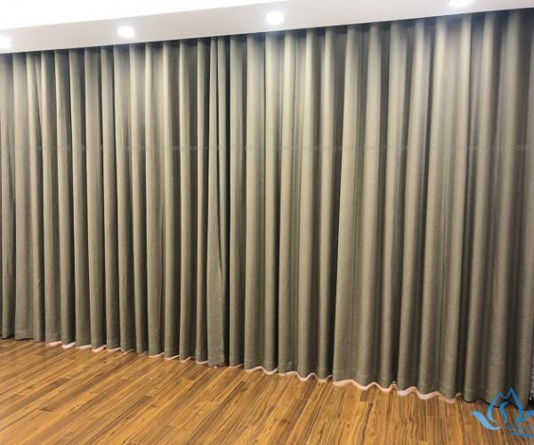 Rèm vải một màu cao cấp đẹp hiện đại tại KĐT Xala, Quận Hà Đông HH888