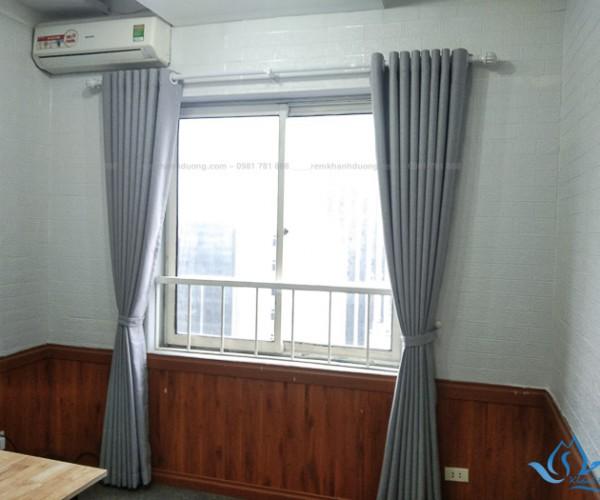 Rèm vải một màu giá rẻ đẹp hiện đại tại Nguyễn Chí Thanh, Hà Nội HP84