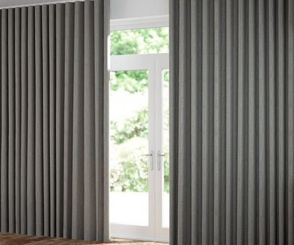 Rèm vải Nhật Bản chống nắng cho phòng khách vải Depo T805 - 04
