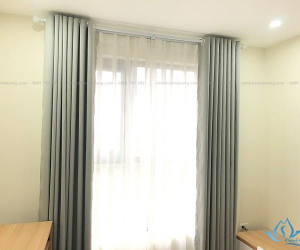 Rèm vải phòng ngủ thanh lịch tại Roman Plaza Tố Hữu, Hà Nội RV 09
