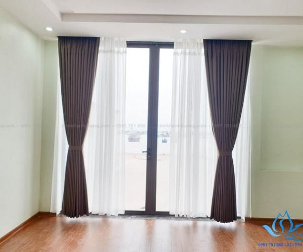 Rèm vải silicon chống nắng nhà hướng Tây KĐT Văn Khê, Hà Đông TM88615