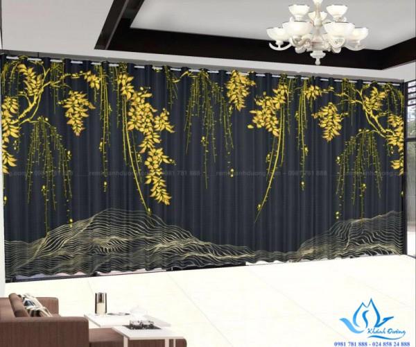 Rèm vải tranh in hình độc đáo nhất tại Nguyễn Chí Thanh, Hà Nội RT20