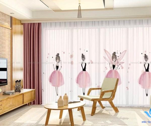Rèm vải tranh tăng khả năng sáng tạo trẻ em tại Hồng Mai, Hà Nội RT 15