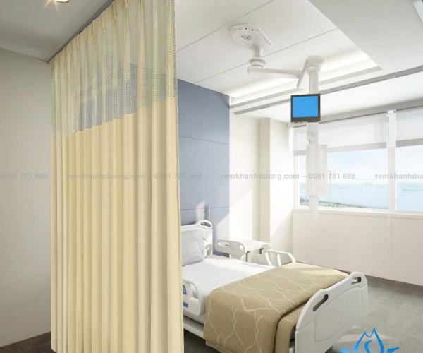 Rèm y tế trang nhã YT-19 bệnh viện quận Long Biên